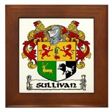 Sullivan Coat of Arms Framed Tile
