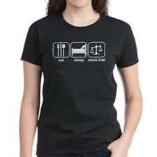 Eat Sleep Mock Trial Tee