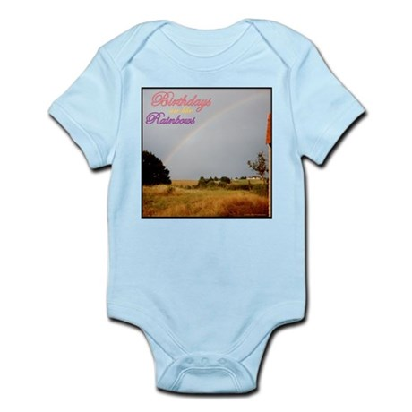 Birthday Rainbows Infant Bodysuit