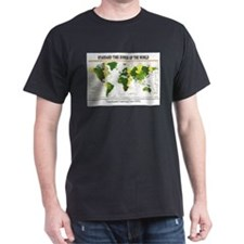 World Time Zone Map T-Shirt