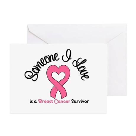 Someone I Love (BC) Greeting Cards (Pk of 10)