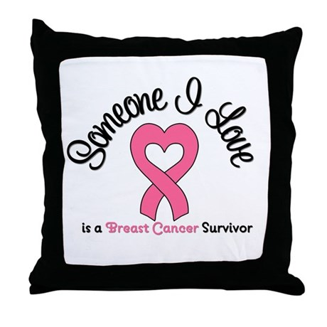 Someone I Love (BC) Throw Pillow