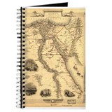 Ancient Egypt Map Journal