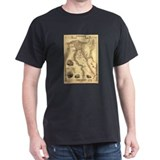Ancient Egypt Map T-Shirt
