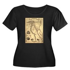 Ancient Egypt Map T