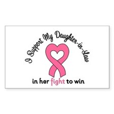 I Support My DIL (BC) Rectangle Sticker 10 pk)