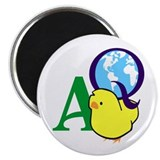 "Atlas Quest 2.25"" Magnet (10 pack)"