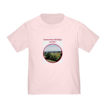 Summertime Birthday Toddler T-Shirt