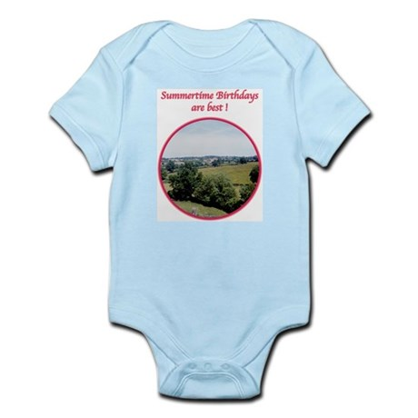 Summertime Birthday Infant Bodysuit