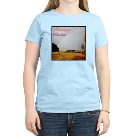 Birthday Rainbows Women's Light T-Shirt