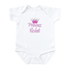Princess Violet Infant Bodysuit