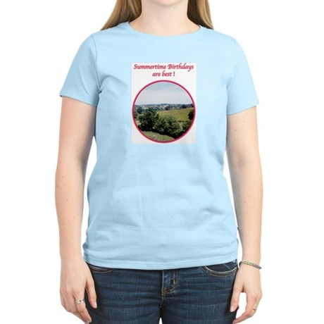 Summertime Birthday Women's Light T-Shirt