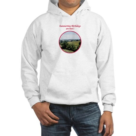 Summertime Birthday Hooded Sweatshirt