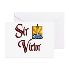 Sir Victor Greeting Cards (Pk of 20)