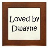 Cute Dwayne Framed Tile