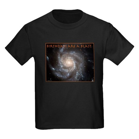 Astronomy Birthday Kids Dark T-Shirt