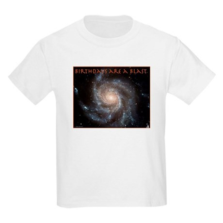 Astronomy Birthday Kids Light T-Shirt