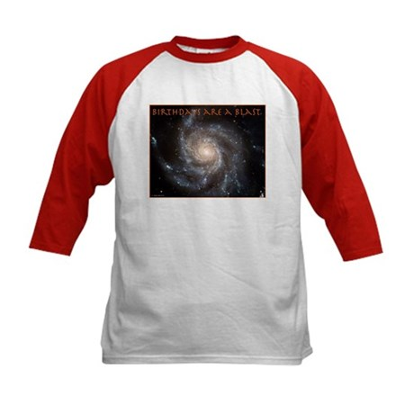 Astronomy Birthday Kids Baseball Jersey