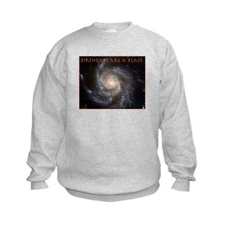 Astronomy Birthday Kids Sweatshirt