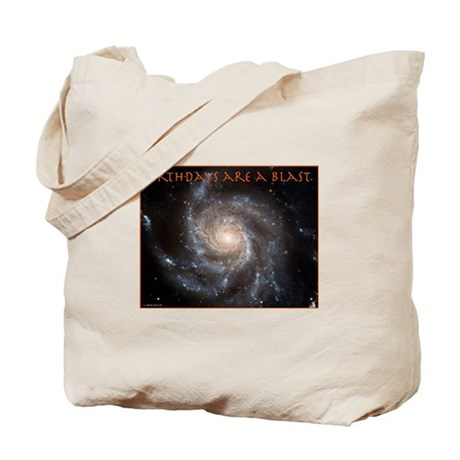 Astronomy Birthday Tote Bag