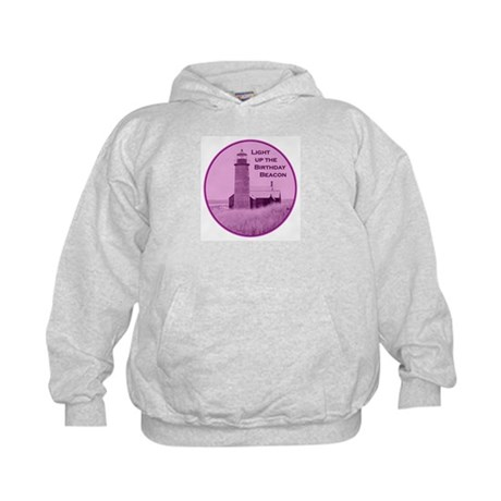 Lighthouse Birthday Kids Hoodie