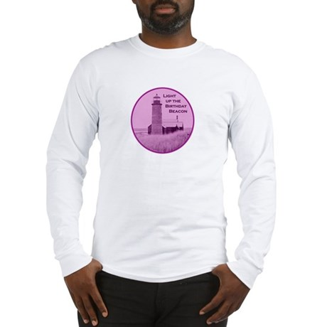Lighthouse Birthday Long Sleeve T-Shirt
