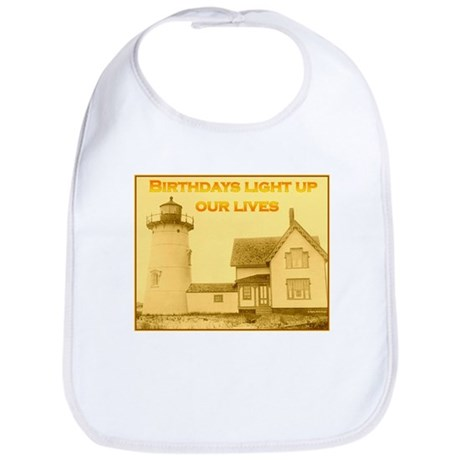 Lighthouse Birthday Bib