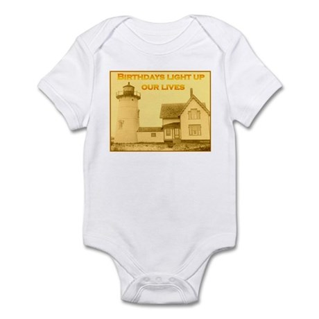 Lighthouse Birthday Infant Bodysuit