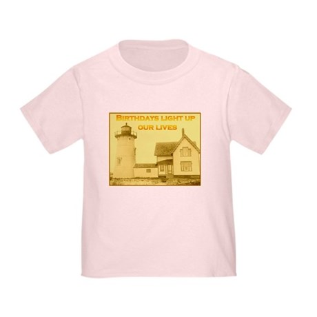 Lighthouse Birthday Toddler T-Shirt