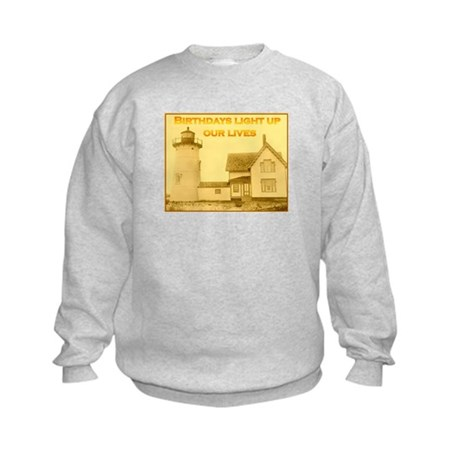 Lighthouse Birthday Kids Sweatshirt