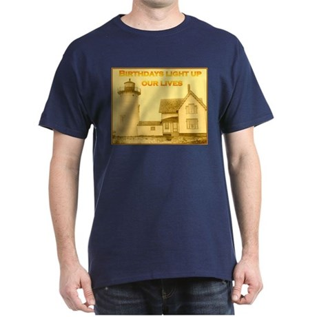 Lighthouse Birthday Dark T-Shirt