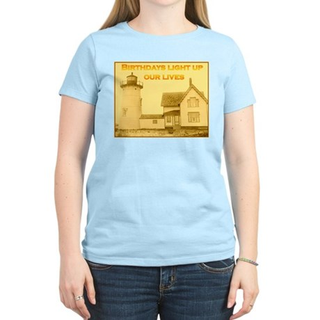 Lighthouse Birthday Women's Light T-Shirt