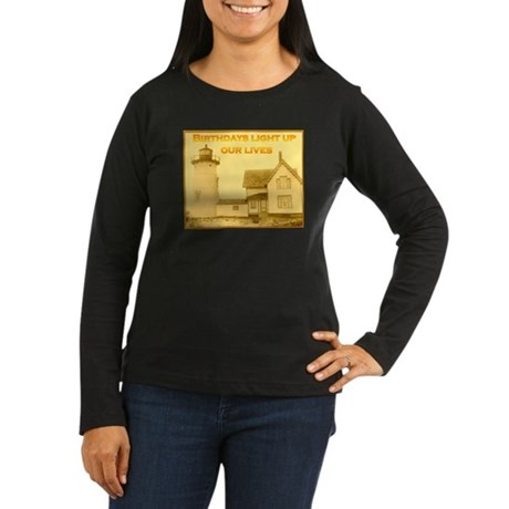 Lighthouse Birthday Women's Long Sleeve T-Shirt