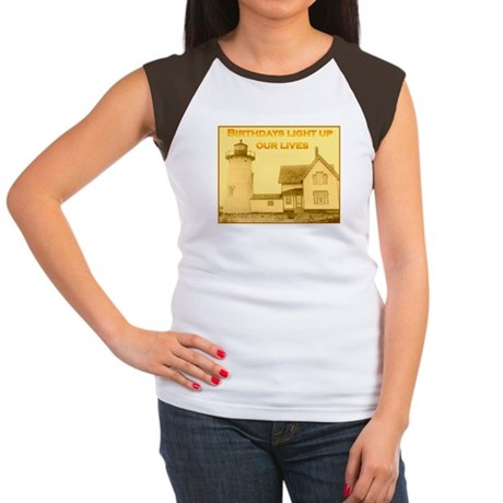Lighthouse Birthday Women's Cap Sleeve T-Shirt