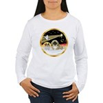 Wisemen/Pekingese Women's Long Sleeve T-Shirt