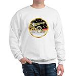 Wisemen/Pekingese Sweatshirt
