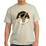 Night Flight/Dachshund #11 Light T-Shirt