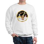 Night Flight/Dachshund #11 Sweatshirt