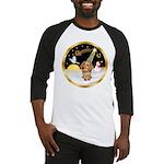 Night Flight/Dachshund #11 Baseball Jersey