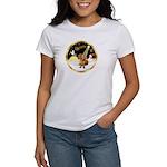 Night Flight/Dachshund #13 Women's T-Shirt