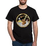 Night Flight/Dachshund #13 Dark T-Shirt