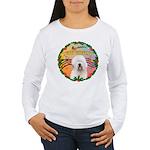 XmasMusic 3/OES #3 Women's Long Sleeve T-Shirt