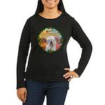 XmasMusic 3/OES #3 Women's Long Sleeve Dark T-Shir