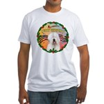 XmasMusic 3/OES #3 Fitted T-Shirt