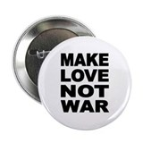 "'Make Love Not War' 2.25"" Button"