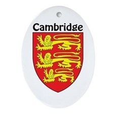 Cambridge Oval Ornament