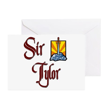 Sir Tylor Greeting Cards (Pk of 10)