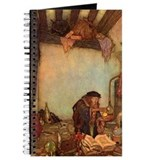 "Edmund Dulac ""The Alchemist"" Journal"