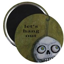 """Let's hang Out 2.25"""" Magnet (100 pack)"""