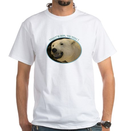 Bear Birthday White T-Shirt